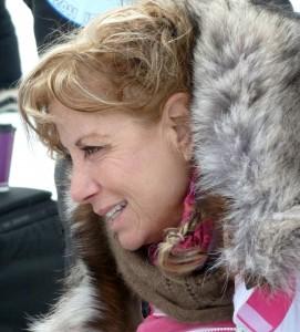 A veteran musher of 33 years, Dee Dee Jonrowe from Willow, AK